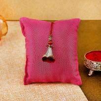 Elegant Red Lumba Rakhi