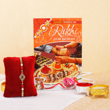 Buy Elegant Rakhi Hamper