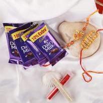 Charming rakhis with Choco
