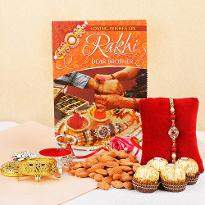 Bhaiya rakhi with Ferrero Delights
