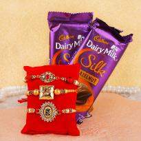 Rakhi with Twice Twist