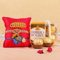 Sweetness Rakhi Hamper