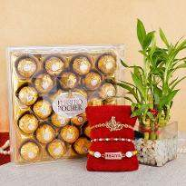 Rakhi Hamper with Bamboo