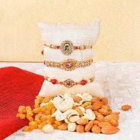 Elegant Rakhi Set