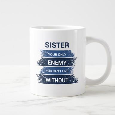 Buy Naughty Sister Mug