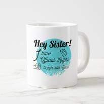Fighting Sis Mug