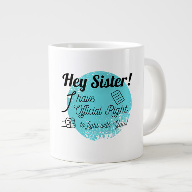 Buy Fighting Sis Mug