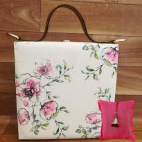 Floral Sketch Handbag