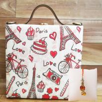 Paris Love Handbag