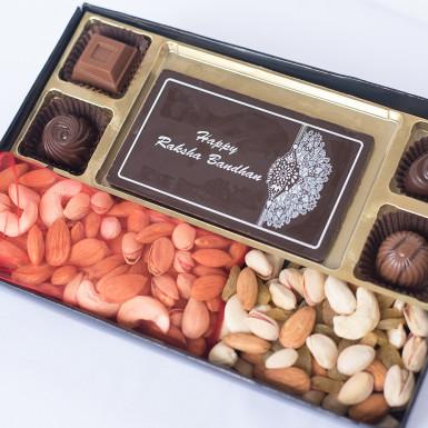 Buy Rakhi Delight Chocolate Box
