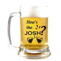 Keep the Josh High Beer Mug