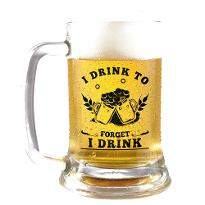 Drink to Forget Beer Mug