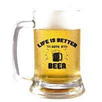 Make Life Better Beer Mug