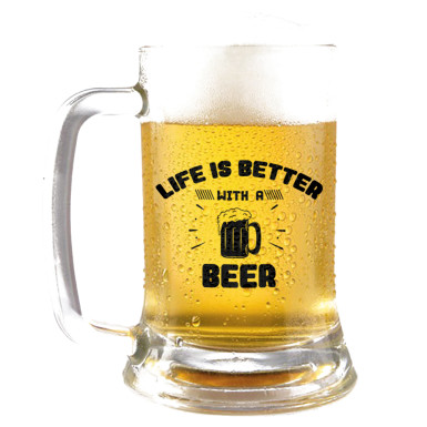 Buy Make Life Better Beer Mug