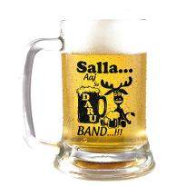 Crazy Man Beer Mug