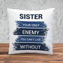 Nasty Brother Cushion