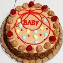 Eggless 1 Kg Chocolate Cake