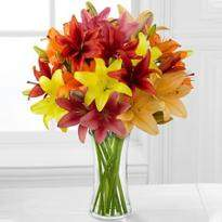 Asiatic Lilly bouquet