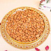 Wheelbarrow of Almonds