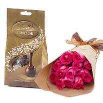 Dark Pink Roses Combo II
