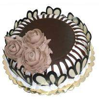 Yummy Dark Chocolate Cake