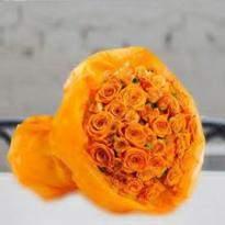 30 Orange Roses
