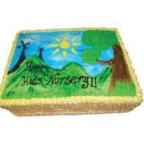 Scenery Cake