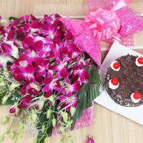 Black Forest and Orchids