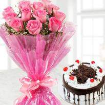 Roses and Black Forest