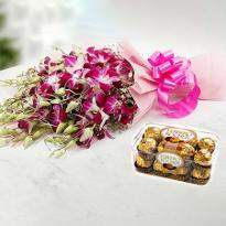 Orchids and Chocolates