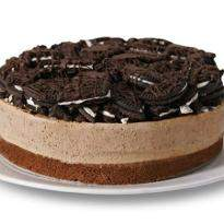 Chocolate Truffle Cookie Cheesecake