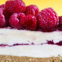 Yummy Raspberry Cheesecake