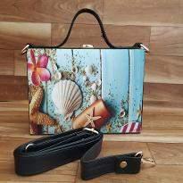 Floral Wave bag