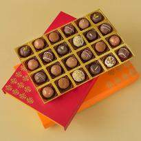 Belgian Pralines Diwali Chocolate Treat Box of 24