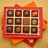 Diwali Belgian Pralines Joy Box of 12