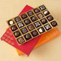 Luxury Chocolate Truffles Diwali Chocolate Treat box of 24