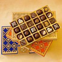 Luxury Chocolate Truffles Diwali Designer Box of 24