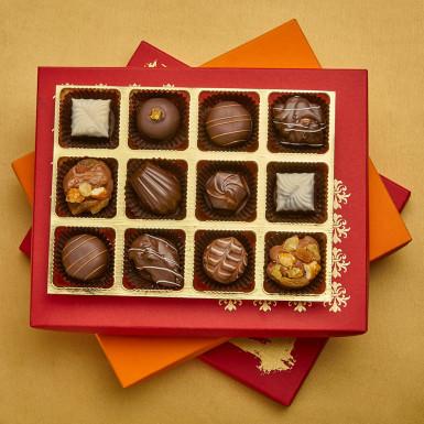Buy Luxury Chocolate Truffles Joy Box of 12