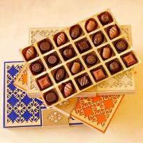 Classic Chocolate Truffles Diwali Designer Box of 24