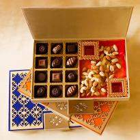 Classic Truffles and Dry Fruits Diwali Designer Box