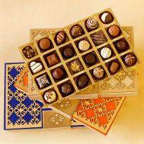 Assorted Chocolate Truffles Designer Box of 24