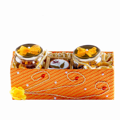 Buy Large Chocolate Diya Basket