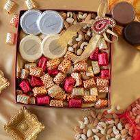Diwali Dry Fruits and Chocolate Cheer Hamper