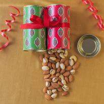 Ethnic Diwali Dry Fruits Tin