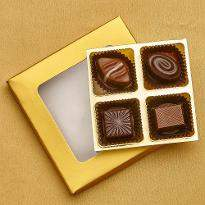 Box of 4 Classic Chocolates for diwali