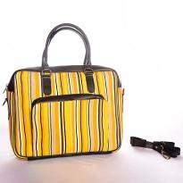 Yellow Print Bag