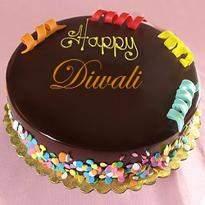 Lovely Diwali Cake