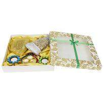 Large Box Diya And Dry Fruit Hamper