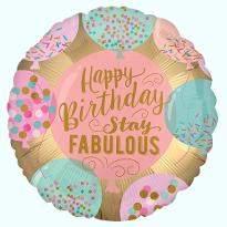 Fabulous Birthday Balloon