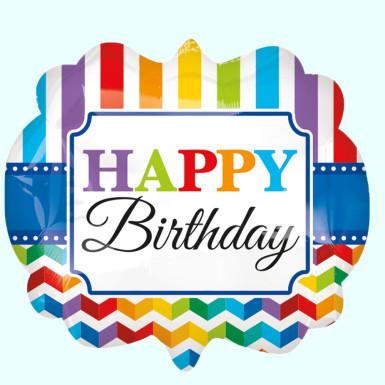 Buy Rainbow Birthday Balloon